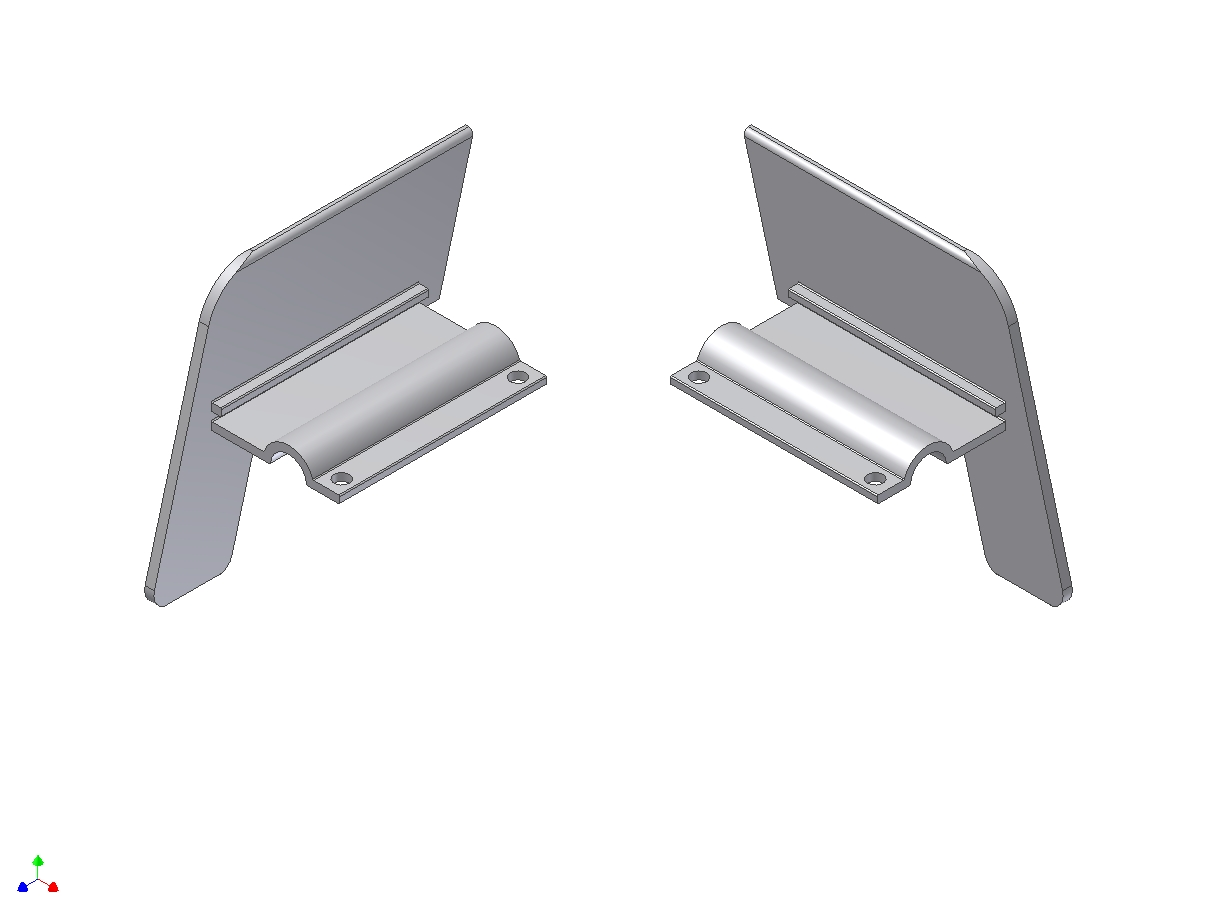 Aluminium kopschotten type f