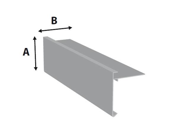 Aluminium Dakrand
