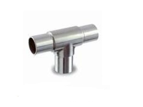 Q-rail t-fitting voor buis Ø 42,4x2,0mm, K-320/T-316