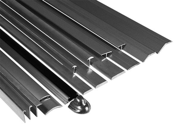Aluminium Stoot-Afdeklijsten
